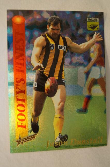 Hawthorn - Footy's Finest Card - Jason Dunstall.