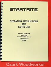 Kalamazoo Startrite Horizontal Band Saw H250a Service Amp Parts Manual 0836