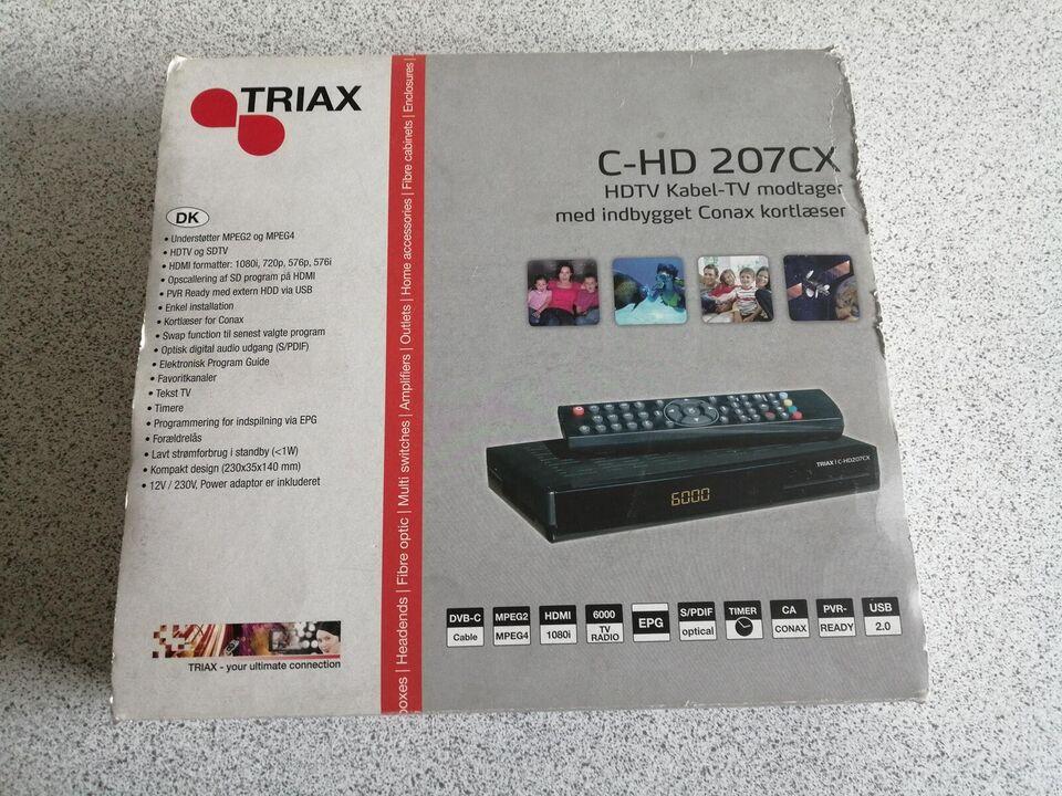 digital boks , Triax C-HD207, Perfekt
