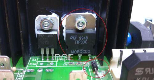 1x Kit Set SAECO Brühgruppe blocca tip33c bd245c 25a 33v bzx85v033 Repair DIY