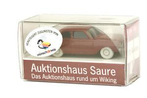 Ford 17m Badewanne, rotbraun (Auktionhaus Saure-Werbemodell 87.Auktion)