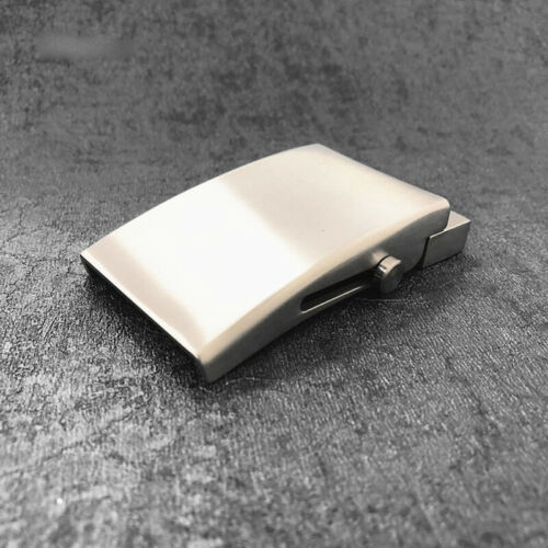 Titanium Automatic Belt toothless Buckle non-penetrating buckle high quality