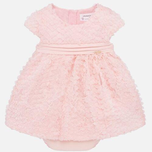 New Mayoral powder pink baby girls 2 piece ruffle dress fit 6-9 months
