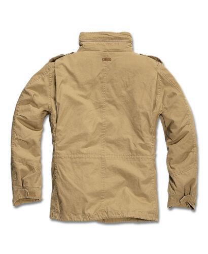 BRANDIT Giubbotto Giacca uomo militare M-65 GIANT Parka 2 in 1 Jacket Camel