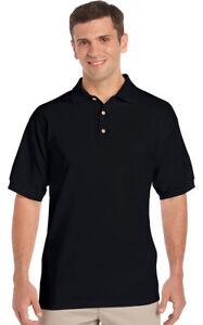 Gildan-Men-039-s-Welt-Collar-Short-Sleeve-Ultra-100-Cotton-Jersey-Polo-Shirt-2800