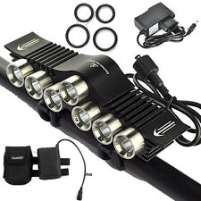 High Power 12000Lm 7xXM-L2 LED Cycling Head Front Bicycle Light Bike Lamp Torch