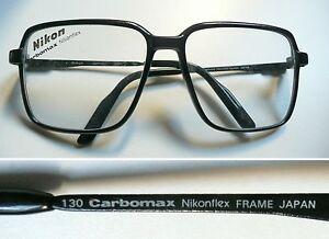 speciale per scarpa nuovi prodotti caldi seleziona per ufficiale Details about Nikon Carbomax Japan NK 4253 occhiali montatura vintage frame  eyeglasses 1980s