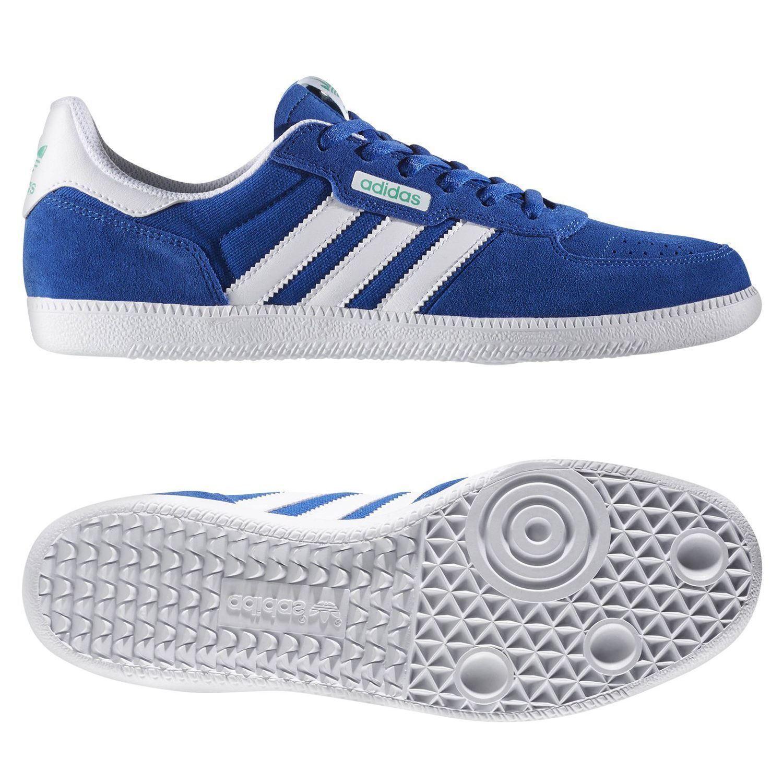 Adidas ORIGINALS herren Blau LEOschwarz SKATE TRAINERS schuhe RETRO SKATEBOARDING NEW