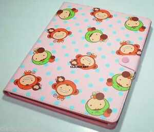 Puppy-Red-Smart-Cover-Leather-Case-For-Apple-iPad-2-3-4
