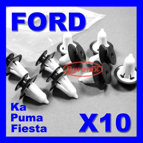 FORD FIEST KA PUMA INTERIOR TRIM FIXING PLASTIC CLIPS DOOR CARDS FASCIAS