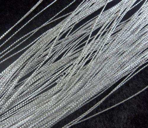 Joyas hilo joyas cuerda joyas Garn DIY 50 metros gris Yarn Cord Wire c60