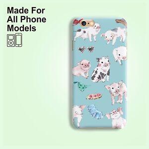 Farm-pig-phone-case-iphone-11-pro-max-X-XS-8-7-Plus-Samsung-Galaxy-S10-S9-Note-9