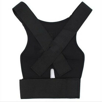 1pc Back Posture Corrector Support Correction Lumbar Shoulder Brace Belt Therapy