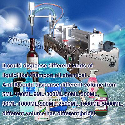 pneumatic liquid filling machine for shampoo,cream,cosmetic,oil,beverage,100ml