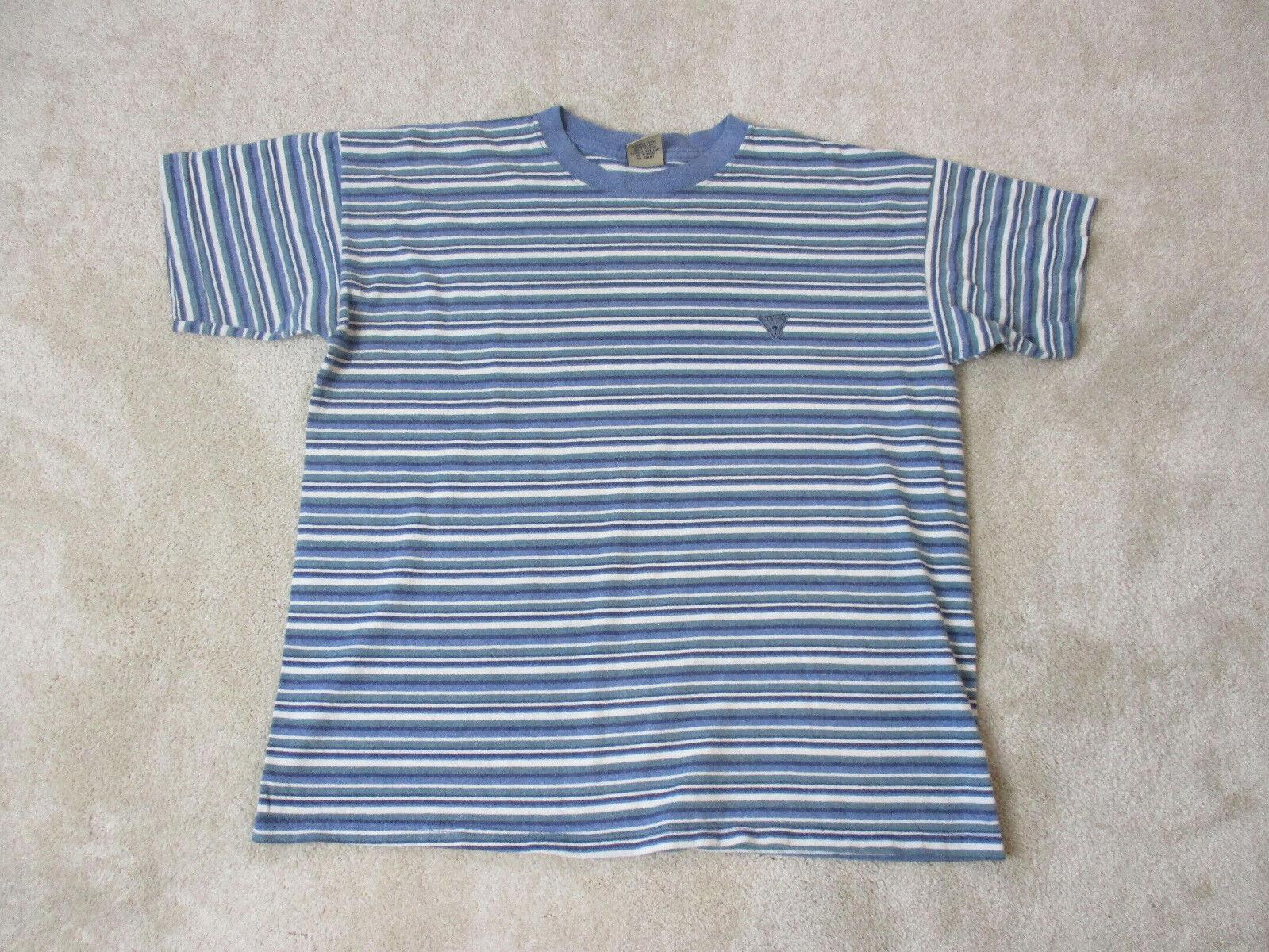 a065b90f Guess Jeans T Shirt Striped Asap - raveitsafe