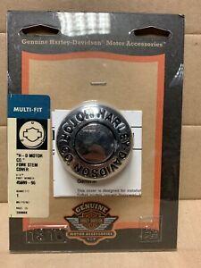 Harley-Davidson-Chrome-Fork-Stem-Cover-45699-96