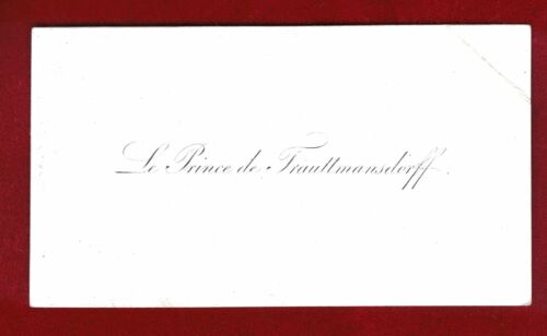 1700s to 1800s European Nobility and Royalty Vintage Calling Cards x 10