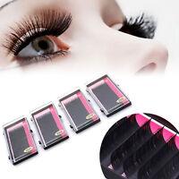 10mm- 14mm Lashes Eye Lash  C D Curl Individual False Eyelash Extensions