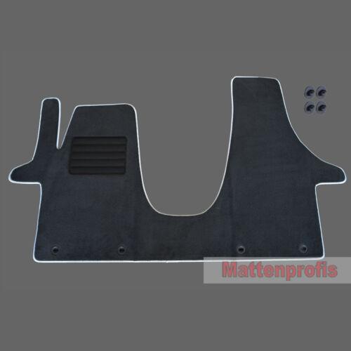 MP Premium Velour Fußmatten für VW T6 V 3-Sitz vorn ab Bj.04//2015 MF si