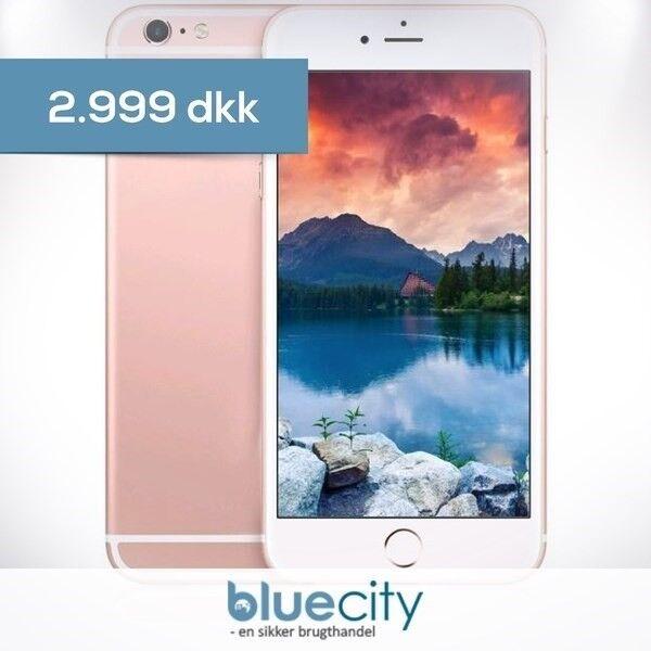 iPhone 6S Plus, GB 128, hvid