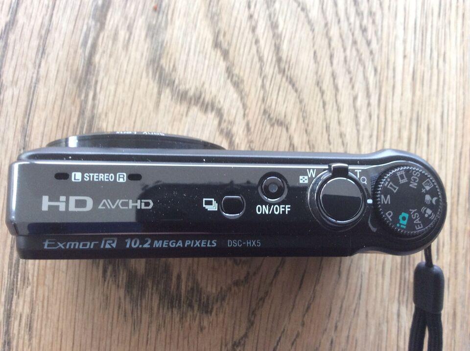 Digital fotografiapparat, Sony Cyber-shot HX7V Kompakt
