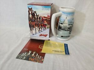 2008-Budweiser-Holiday-Collectible-Stein-75th-Anniversary