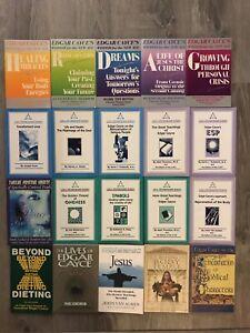 Edgar Cayce & Friends 20 Book Lot Vtg PB Psychic ESP Dreams Reincarnation