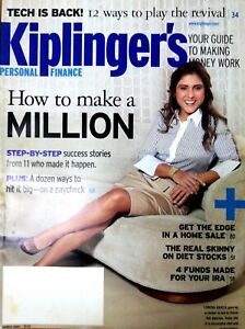 RARE-Magazine-Kiplinger-039-s-Personal-Finance-March-2007-How-To-Make-A-Million