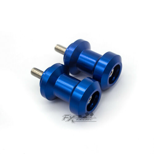 CNC 10mm Swingarm Spool Slider For YZF750//YZF1000 1987-1997 FZR400 1989-1990