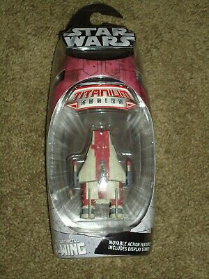 Hasbro Diecast Star WARS Titanium Series A-Wing Starfighter