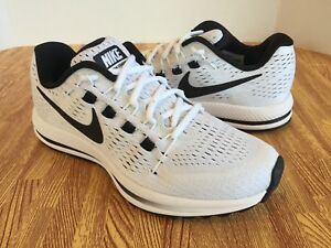a7aeb9d985a6c Nike Air Zoom Vomero 12 Women s Running Shoes 863766-100 White Black ...
