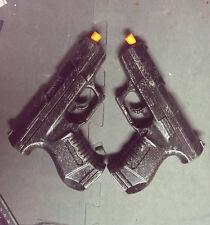 2x P99 Pistol Set Weathered Walther Gun Prop Costume Cosplay Punisher Underworld