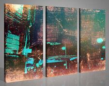 Quadri astratti Bade city stampe su tela canvas arte moderna 130x90 intelaiato