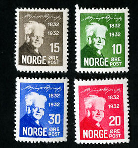 Norway-Stamps-132-5-VF-OG-NH-Catalog-Value-85-00