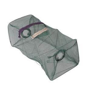 Faltbare-Krabben-Fisch-Crawdad-Shrimp-Minnow-Fischkoeder-Trap-Cast-Dip-Net-N-V7W0