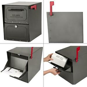 Details about Mount Mailbox Oasis Classic Parcel with High Security Locking  Post