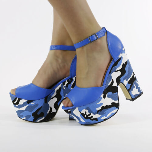 NEW CELEBRITY LOOK WEDGE STYLE LADIES SHOES FASHION HIGH HEELS SIZE 3-8