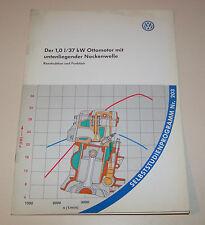 VW Lupo 1,0 Liter 37 kW Alu - Motor - SSP 203 -  Stand 1998!