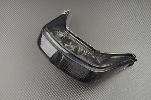 Feu arrière fumé clignotant intégré tail light yamaha R6 1999 2000