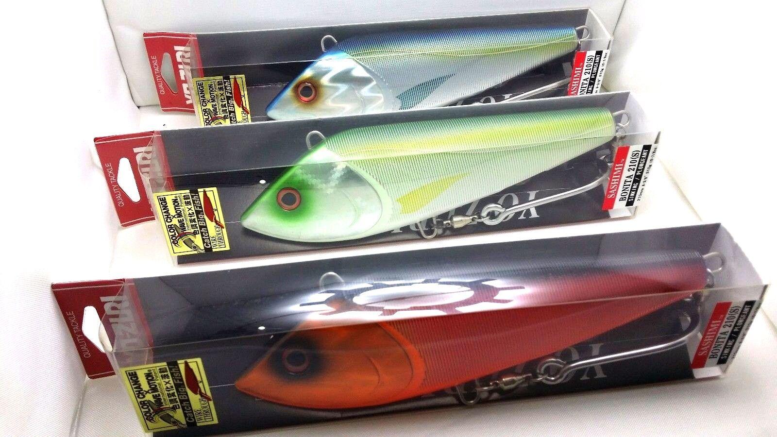 1pc Yo-zuri Sashimi Bonita 210S 310g Sinking Trolling Fishing Lure F1057