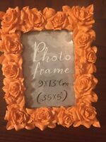 Paperchase Rose Frame Coral 3.5x5