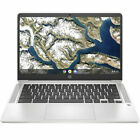 HP ChromeBook 14 inch (32GB, Intel Celeron N, 1.10GHz, 4GB) Notebook/Laptop - Mineral Silver - 9LL49UAABA