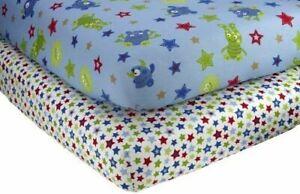 Little-Bedding-2-Count-Crib-Sheet-Set-Monster-Babies