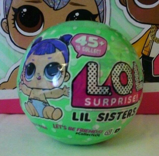 Series 2 Lol Surprise Lil Little Sisters Doll 5 Layers L O L 1
