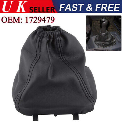 Gear Stick Shift Knob Lever Boot Gaiter Cover Lid for FORD TRANSIT VAN MK7 06-13
