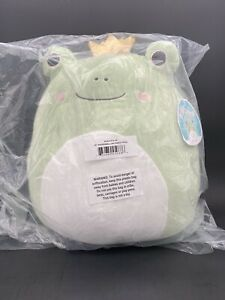 """Squishmallow Baratelli 16"""" Frog Prince IN HAND by KellyToy Official FREE SHIP 🐸"""