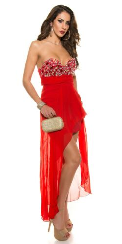 Koucla Cocktail Kleid Abendkleid Minikleid Dress Strass
