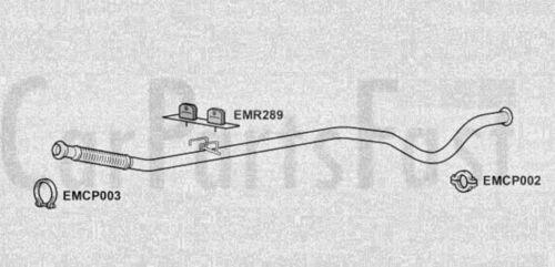 2E//K EXHAUST SILENCER PEUGEOT 206 SW 1.4 HDi Diesel 2002-07-/>