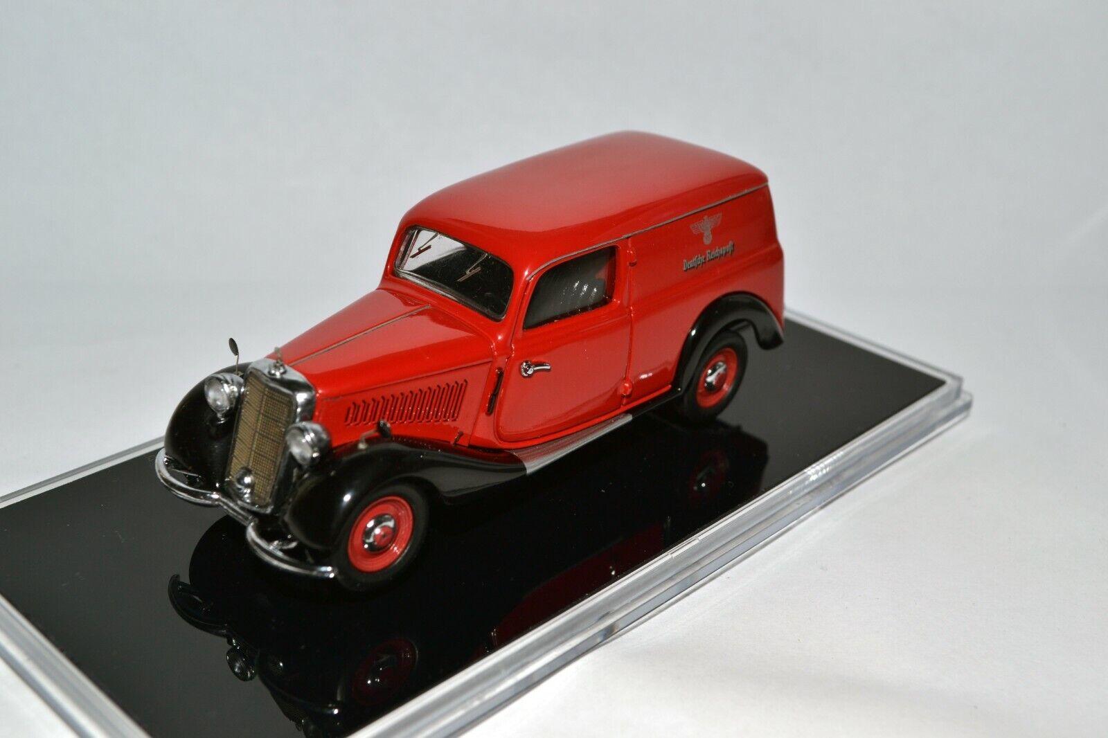 RARE Mercedes-Benz 170V W136 German Reichspost Reichspost Reichspost 1936-42 1 43 Schuco 55c