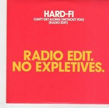 (EL642) Hard-Fi, Can't Get Along (Without You) - 2007 DJ CD